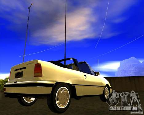 Chevrolet Kadett GSI 2.0 Conversivel (1991-1995) para GTA San Andreas vista direita
