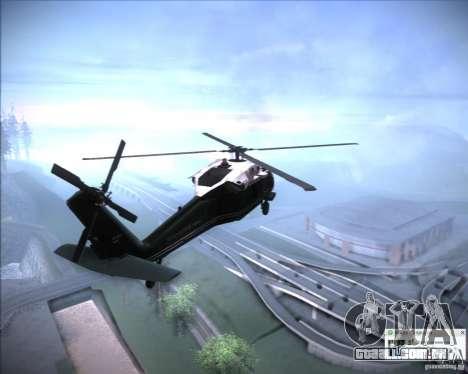 Sikorsky VH-60N Whitehawk para GTA San Andreas vista direita
