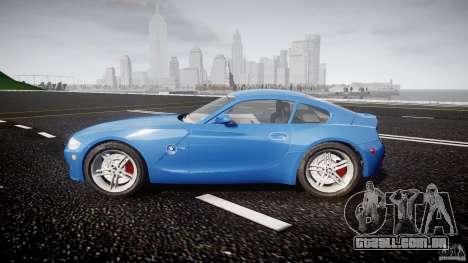 BMW Z4 Coupe v1.0 para GTA 4 vista interior