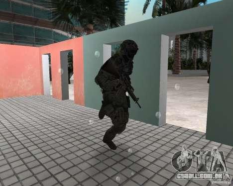 Frost do CoD MW3 para GTA Vice City segunda tela