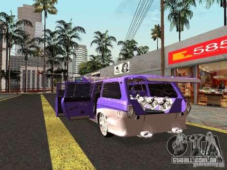 Lowrider GAZ 24-12 para GTA San Andreas vista direita