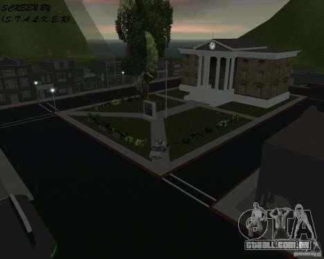 Volta para o futuro de Hill Valley para GTA Vice City segunda tela