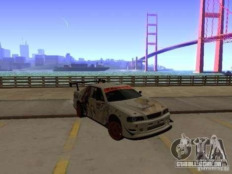 Toyota Chaser JZX100 Tuning by TCW para GTA San Andreas vista direita