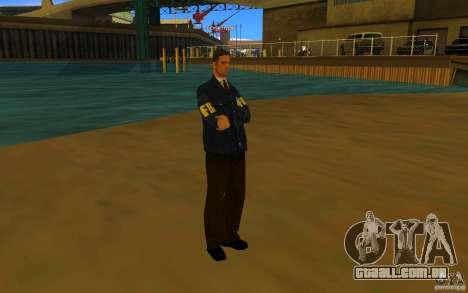 HQ skin FBI para GTA San Andreas terceira tela