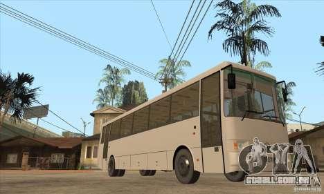 LAZ 52078 (forro-12) para GTA San Andreas vista traseira