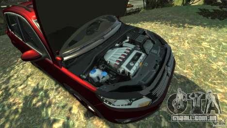 Volkswagen Tiguan 2012 para GTA 4 vista interior