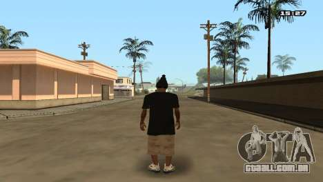 Skin Pack Ballas para GTA San Andreas oitavo tela