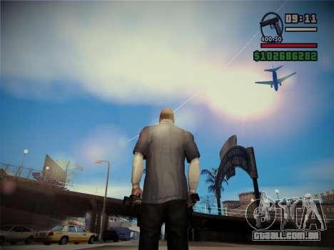 Qualidade brilho do sol para GTA San Andreas segunda tela