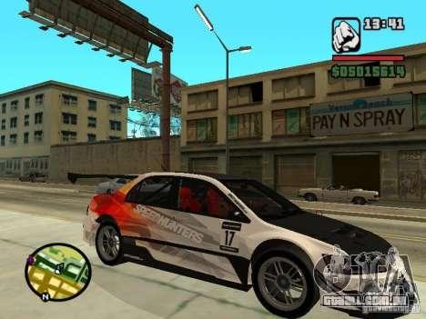 Mitsubishi Lancer Evo IX SpeedHunters Edition para GTA San Andreas