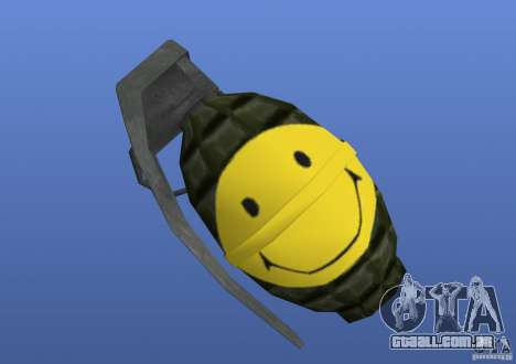 Smiley Granate para GTA 4 terceira tela