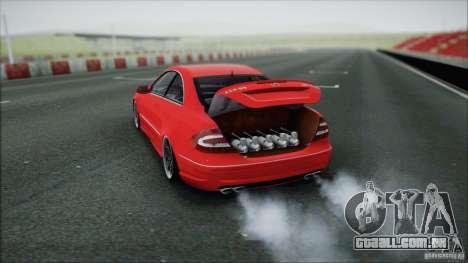 Mercedes CLK 55 AMG para GTA San Andreas