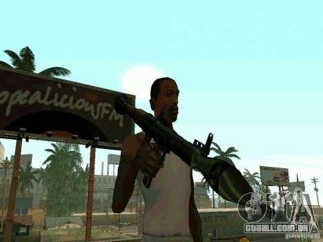 RPG de BF2 para GTA San Andreas segunda tela