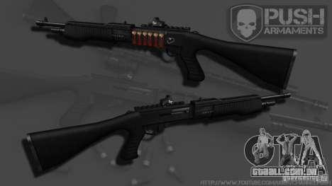 SPAS-12 Tactical para GTA 4 segundo screenshot