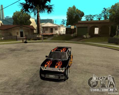 Melodia GTX VAZ 2106 para GTA San Andreas vista interior