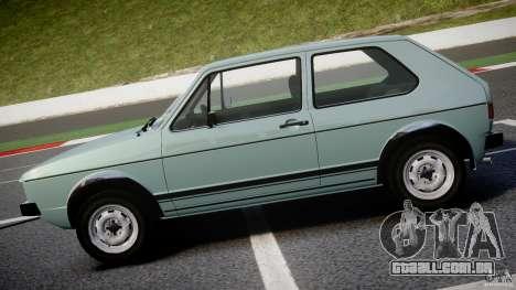 Volkswagen Golf Mk1 para GTA 4 esquerda vista