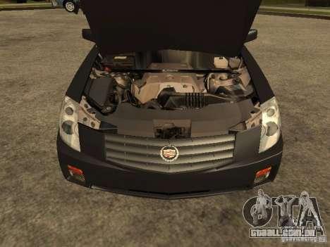 Cadillac CTS para GTA San Andreas vista direita