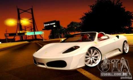 Ferrari F430 Spider para GTA San Andreas