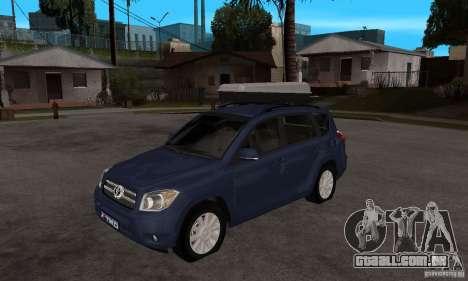 Toyota RAV4 V2 para GTA San Andreas
