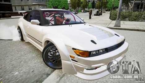 Nissan Sileighty para GTA 4 esquerda vista