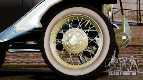 Ford Model T 1924 para GTA 4 vista de volta