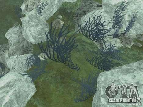 HD texturas de fundo do mar para GTA San Andreas por diante tela
