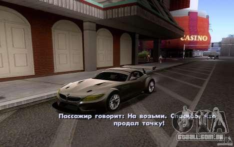 Carros clássicos para venda para fora para GTA San Andreas por diante tela