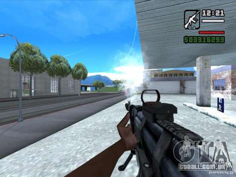 AK-103 de WARFACE para GTA San Andreas terceira tela