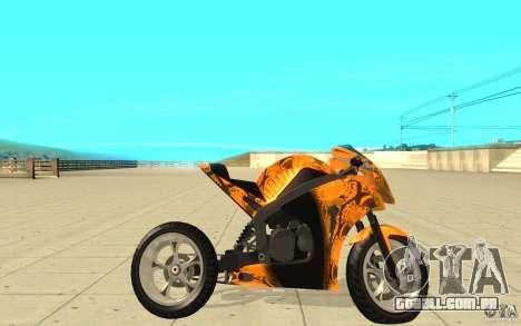 DoubleT Custom para GTA San Andreas esquerda vista