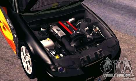 Nissan Silvia s15 tunable para vista lateral GTA San Andreas