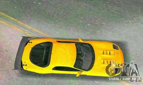 Mazda RX7 RE-Amemiya para GTA Vice City vista interior
