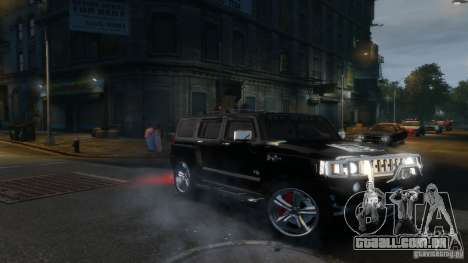 Hummer H3 2005 Chrome Final para GTA 4