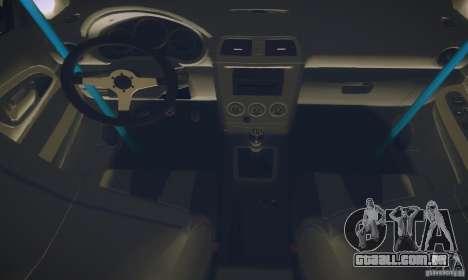 Subaru Impreza WRX STI Futou Battle para GTA San Andreas vista interior
