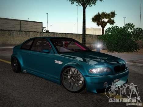 BMW E46 Drift II para GTA San Andreas vista interior