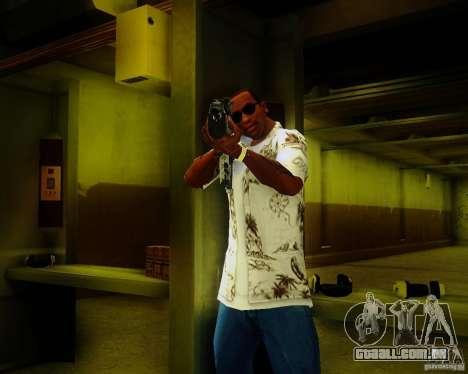 Tavor Tar-21 Digital para GTA San Andreas segunda tela