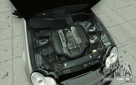 Mercedes-Benz C32 AMG Tuning para GTA San Andreas vista inferior
