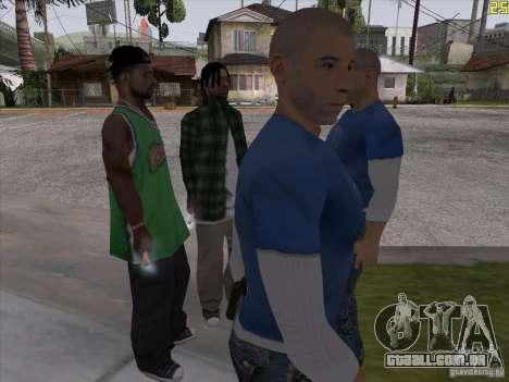 Vin Diesel para GTA San Andreas segunda tela