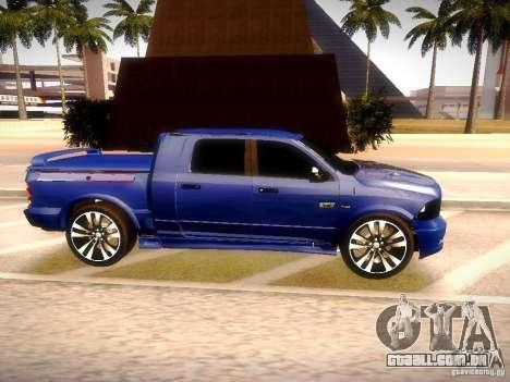 Dodge Ram R/T 2011 para GTA San Andreas vista direita