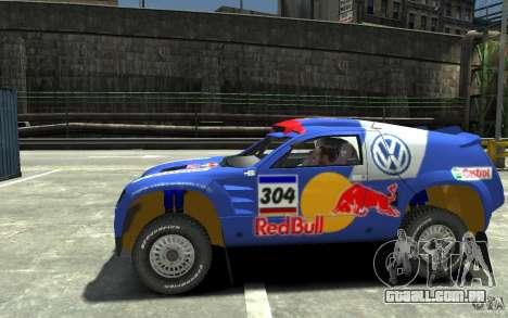 Volkswagen Touareg Rally para GTA 4 esquerda vista
