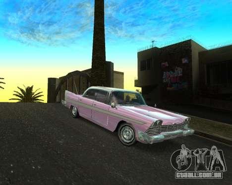 Plymouth Belvedere para GTA San Andreas