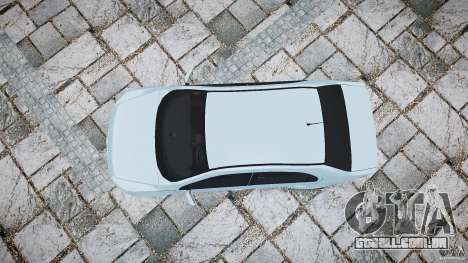 Volkswagen Voyage Comfortline para GTA 4 vista direita