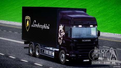 Scania R580 Tandem para GTA 4 vista direita