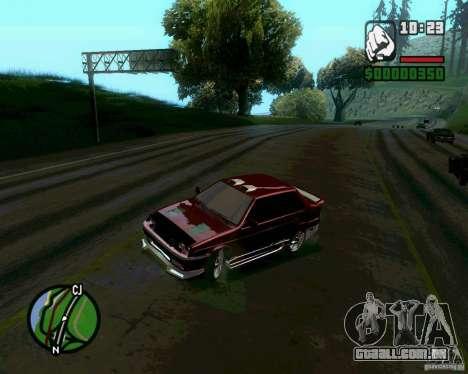 Vaz 21099 NFS Tuning para GTA San Andreas