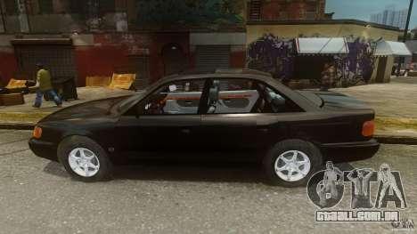 Audi 100 C4 1992 para GTA 4 esquerda vista