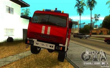 KAMAZ 43118 AC-7, 0-40 para GTA San Andreas