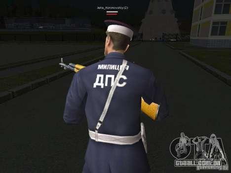 Peles de milícia para GTA San Andreas sexta tela