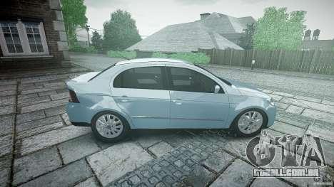 Volkswagen Voyage Comfortline para GTA 4 vista lateral