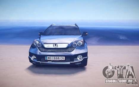 Honda CR-V Light Tuning para GTA 4 motor