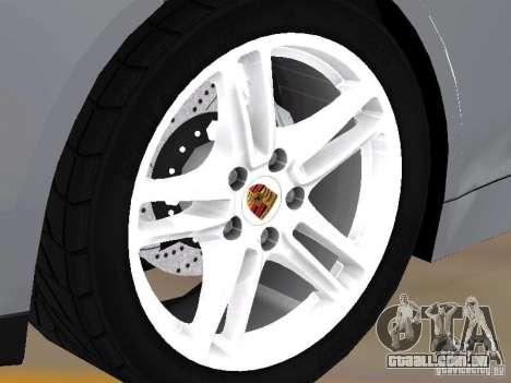 Porsche Panamera Turbo Tunable para GTA San Andreas vista direita
