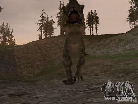 Dinosaurs Attack mod para GTA San Andreas