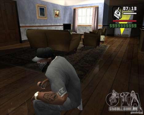 Detector de s. l. a. t. k. e. R # 2 para GTA San Andreas segunda tela